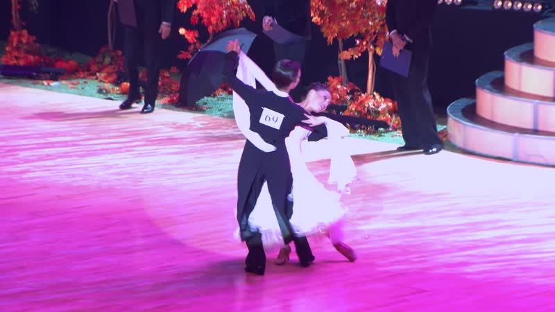 Mikriukov Artur-Kornilova Aleksandra Junior 1, Standart /Slow Foxtrot/ Final. Autumn Moscow Cup