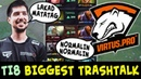 TI8 biggest TRASHTALK teams — Lakad Matatag non-stop spam