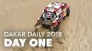 Day 1 Al-Attiyah Dominates Dakar Daily 2018