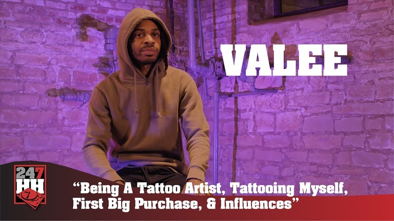 Valee Being A Tattoo Artist Tattooing Myself First Big Purchase Influences