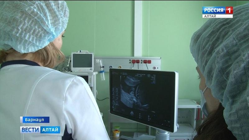 В краевом перинатальном центре «ДАР» впервые провели внутриутробное переливание крови