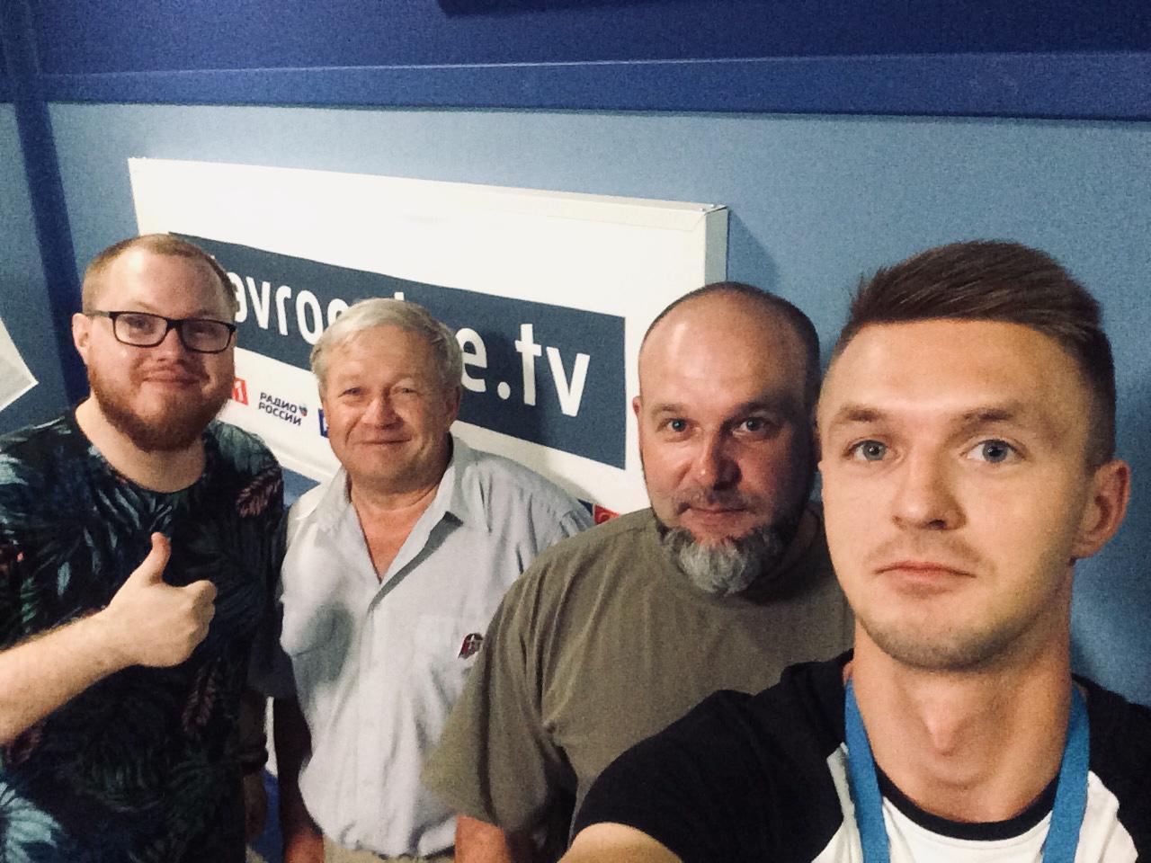 Партизаны на радио Россия