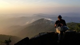TerraPan Handpan at Sunset in the Appalachian Mountains