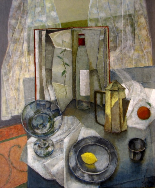 Pierre Lefebvre (Canadian, b.1954) Родился в Hull, Quebec.С 1980 занимается только живописью.Первая выставка состоялась в 1981 в родном городе художника. В 1982 он переехал в Монреаль. В 1987