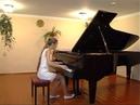 Гадлевская Полина Ф Бургмюллер Песня пряхи op 109 №18