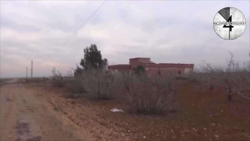 Известный пропагандист исламистов Тахир Абу Умар, делая репортаж из Идлиба, попал под бомбардировку ВКС РФ. Уцелел он только из-
