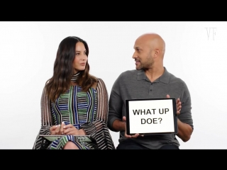 Detroit and japanese slang with keegan-michael key and olivia munn