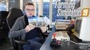 LS19 Gameplay - Zu Gast bei den Farming Simulator 19 Entwicklern mit LS19 Gameplay (C64)