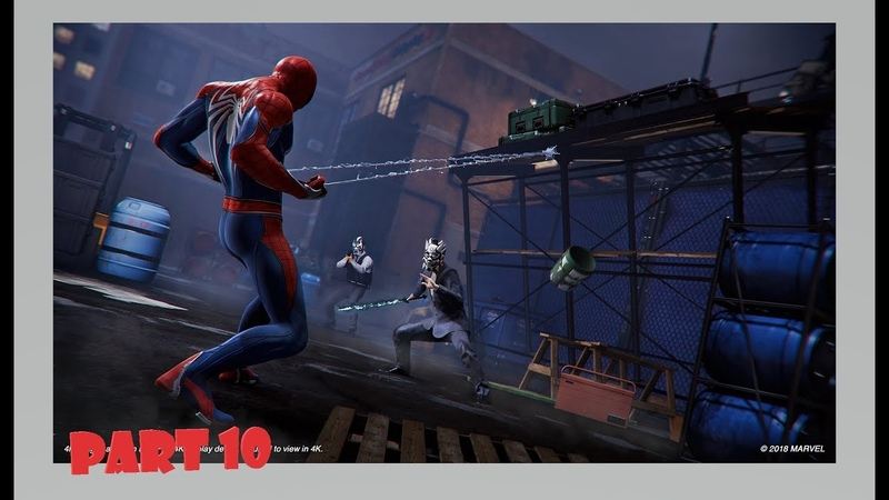 Marvel's Spider-Man Official Only PS4 Walkthrough Part 10 1080p