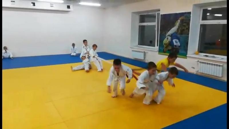 Упражнение Упряжка (тренировка от 28.09.18 г.)