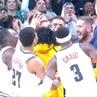 "NBA on Instagram: ""@juanchiviris41's block secures the @nuggets victory! KiaTipOff18 ThisIsWhyWePlay"""