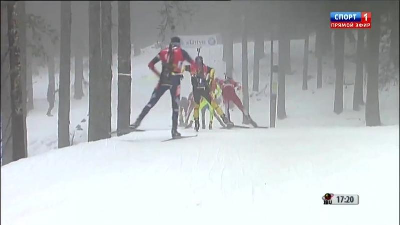 КМ по биатлону 2012/2013. 3-й этап, Поклюка, Словения. Мужчины. Масс-старт 15 км (16.12.2012)