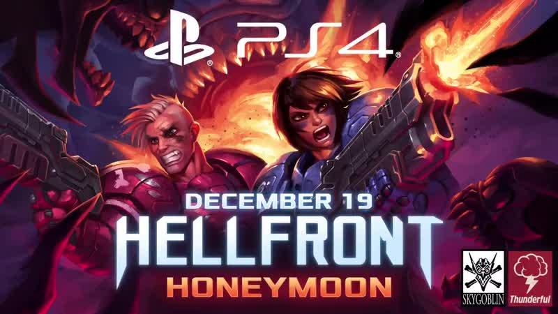 Twin-stick shooter Hellfront Honeymoon