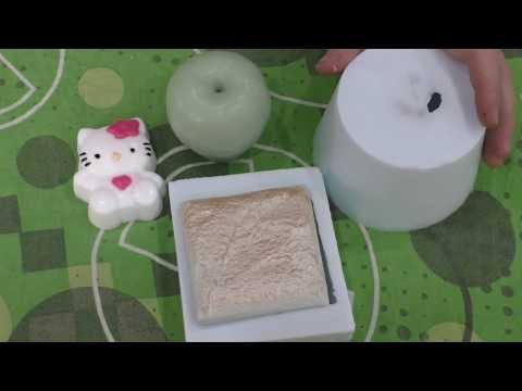 Изготовление силиконовой формы для отливки декоративного камня и мыла