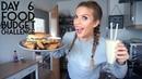 Burgers chips milkshake VEGAN