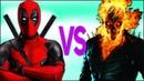 ДЭДПУЛ VS ПРИЗРАЧНЫЙ ГОНЩИК СУПЕР РЭП БИТВА Deadpool 2 movie ПРОТИВ Ghost Rider superhero trailer