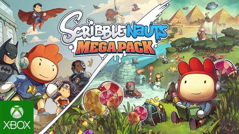 Scribblenauts Mega Pack Gameplay Launch Trailer