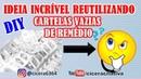 DIY | RECICLAGEM | IDEIAS INCRÍVEIS COM CARTELAS DE COMPRIMIDOS | CICERA CRIATIVA