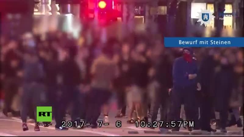 'Welcome to Hell' G20 Video aus Polizeiperspektive zeigt massive Attacken auf