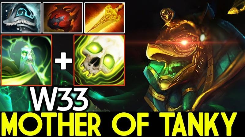 W33 [Necrophos] Mother of Tanky Crazy Game 7.20 Dota 2