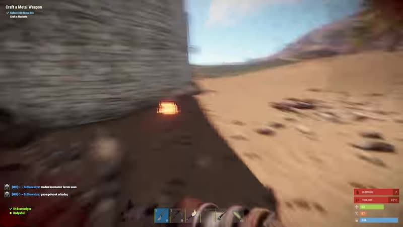 [Scroodgee] ОТ Пайпа ДО Калаша?! Живу в пещере. Турбо старт - Rust / Раст | Scroodgee.