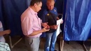 Нарушение на избирательном участке в Мариуполе