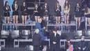 190106 방탄소년단 (BTS) - 뉴이스트W 의자 다시 제자리에 갖다놓는 매너남! 뷔! V 엄지척 지민 [4K] 직캠 Fancam by Mera
