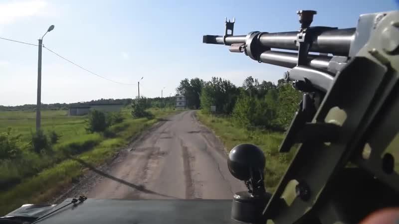 стрельба из 12 7мм пулемета КОРД
