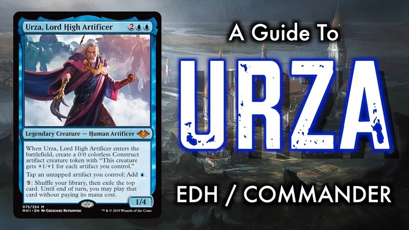 A Guide To Urza Lord High Artificer Commander EDH for Magic The Gathering