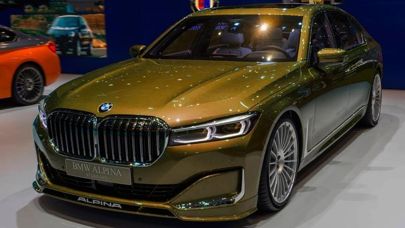 NEW 2020 - BMW 7 Alpina V12 600Hp Gold Edition Super Sport - Interior and Exterior 4K 2160p