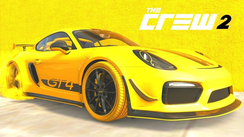 THE CREW 2 GOLD EDiTiON (TUNiNG) PORSCHE Cayman GT4 Wasp Edition PART 1043 ...