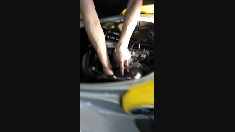 Установка двигателя на гидроцикл BRP XP 2000