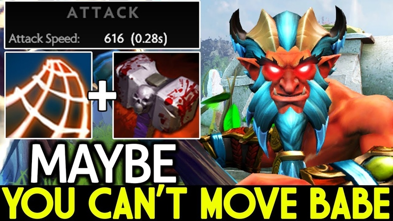 Maybe [Troll Warlord] You can't Move Babe Cancer Hero 7.20 Dota 2