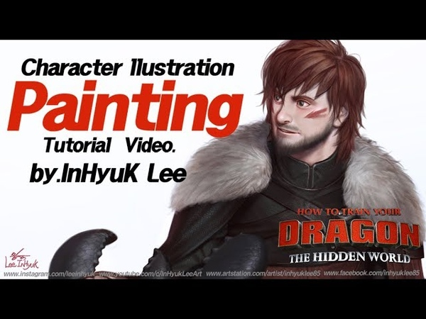 How to train your dragon3 Speed painting by.InHyuk Lee (드래곤 길들이기3 스피드 페인팅 by.이인혁)