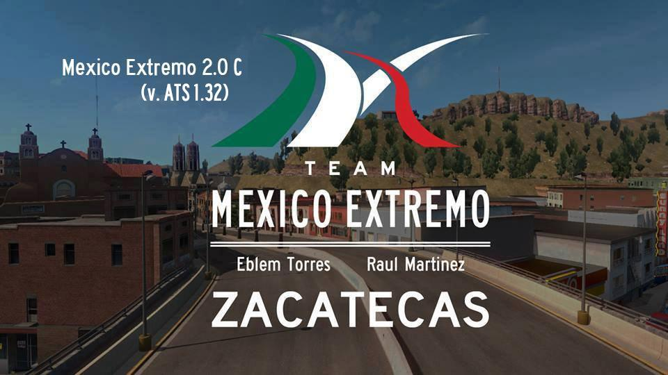 MEXICO EXTREMO V2.0C FOR ATS 1.3