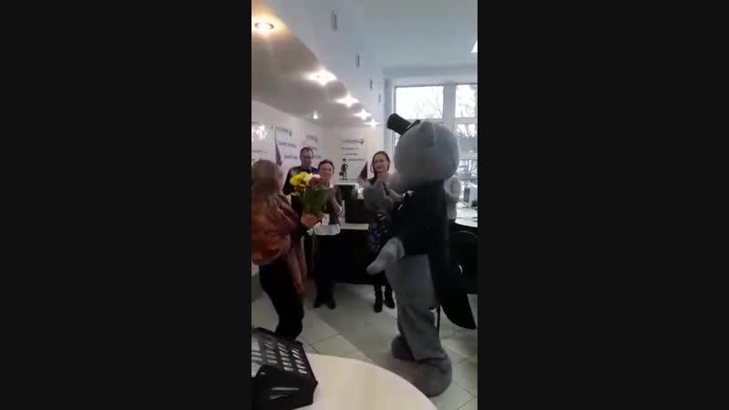 Поздравление Оленьки