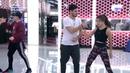 Amaia y Aitana lo dan todo bailando
