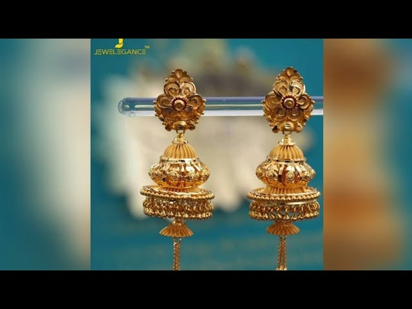 Earring Designs  Latest gold drop earring designs  Jhumka design collection