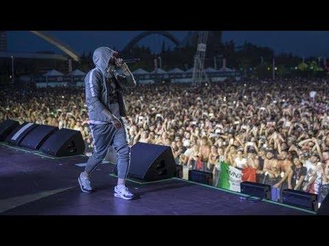 EMINEM Lose Yourself Milano Revival tour 7 7 2018