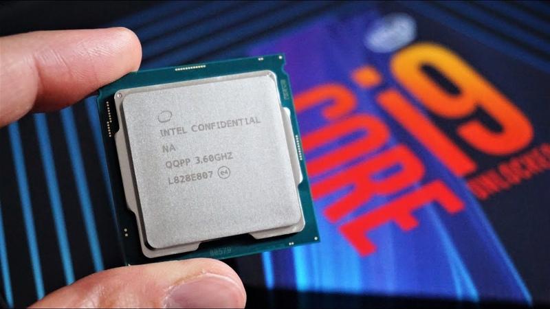 I7 8700k vs i7 9700k vs i9 9900k - Тест и сравнение
