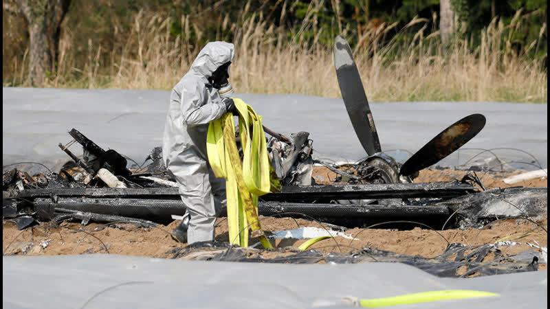 Ошибка пилотирования опубликован предварительный отчет об авиакатастрофе под Франкфуртом