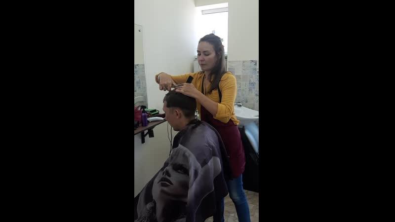 Занятия парикмахеров