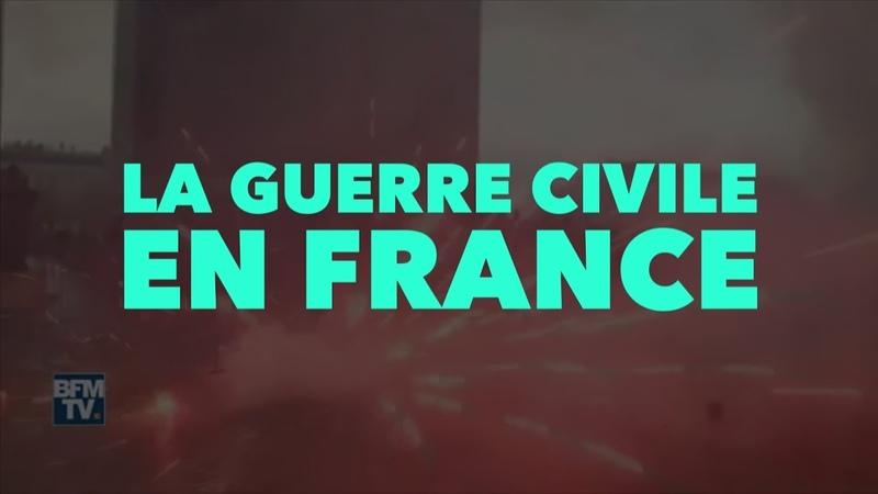 Francis Cousin : La Guerre Civile en France - Actualité de Juillet 2019