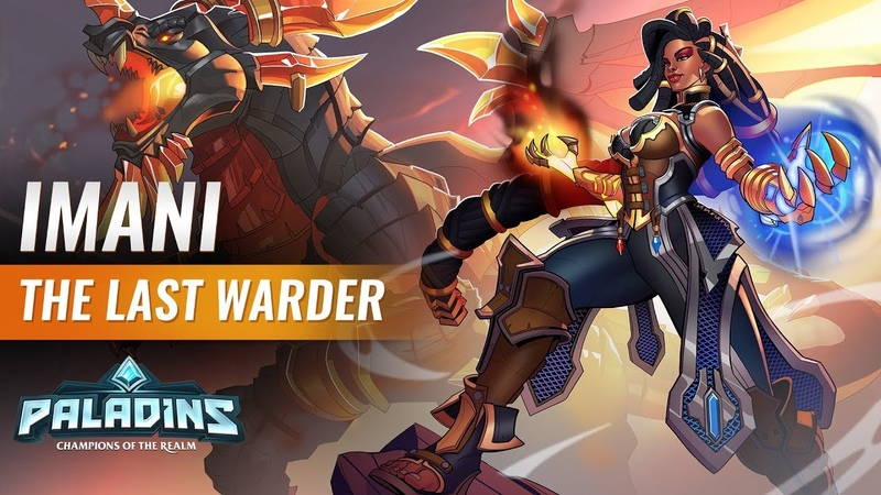 Paladins - Champion Teaser - Imani, The Last Warder