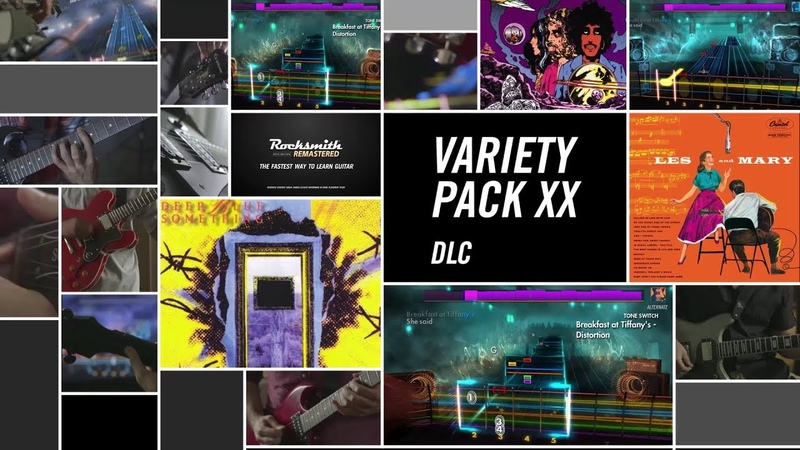 Variety Song Pack XX – Rocksmith 2014 Edition Remastered DLC