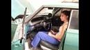 Chevrolet Impala in the hands of sexy woman - Chevrolet Impala seksi kadının elinde.