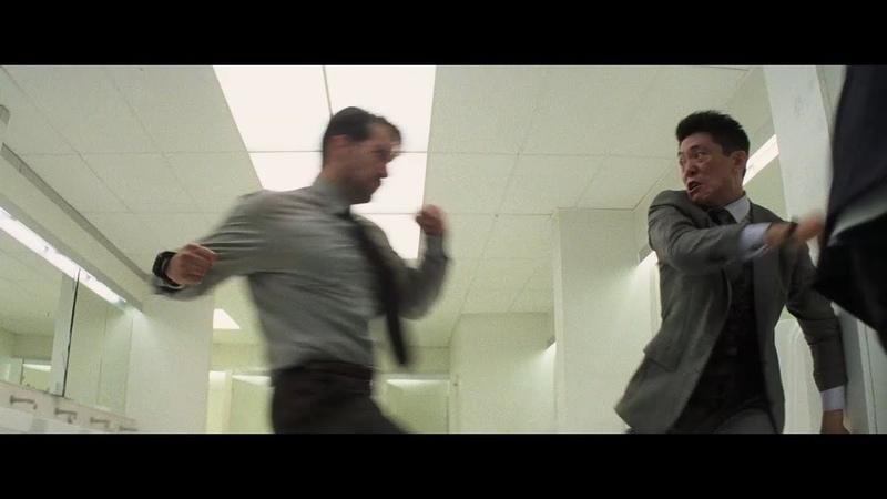 Ethan Hunt August Walker VS. Lark Decoy Bathroom Fight Full Clip Deleted Scenes
