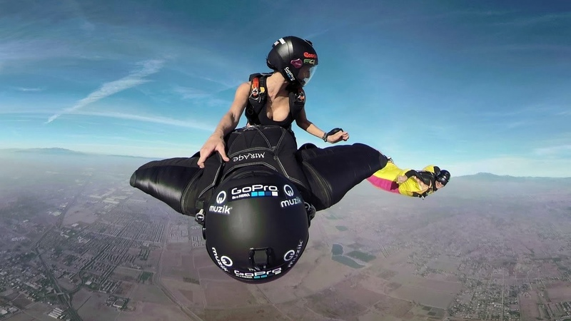 Wingsuit Flying High Adrenaline Action