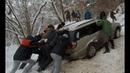 Зимний Off road Quattro Москвич и кроссоверы в глубоком снегу перегрели муфту на Renault Duster
