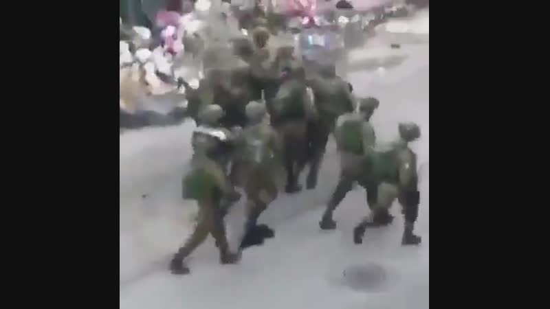 I do support Palestine · Look at how idf soldiers from most moral army in the world beat a Palestinian Hebron